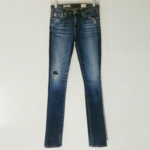 GUC Size 25 AG The Harper Essential Straight Jeans